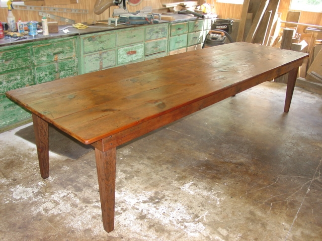 PrimitiveFolks Pine tables custom farm tables Harvest tables Kitchen Island