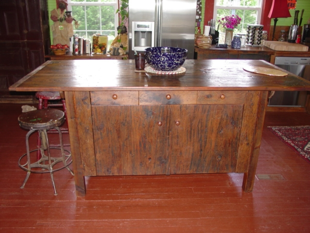 The Tables Are Still Made From Old Wood But Have Lost Quite A Bit Of Their Natural Patina Which Gives It That Old Look I So Love So They Have To