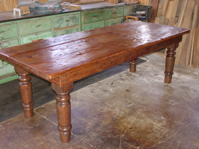 Farmhouse Kitchen Island Table Custom 20 X 40 36